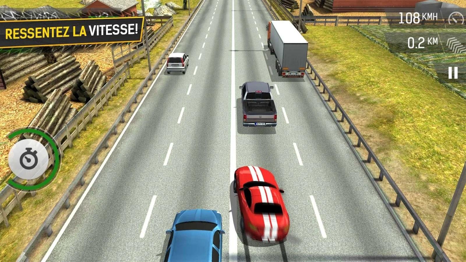 Racing Fever : un peu de slalom sur l'autoroute ?