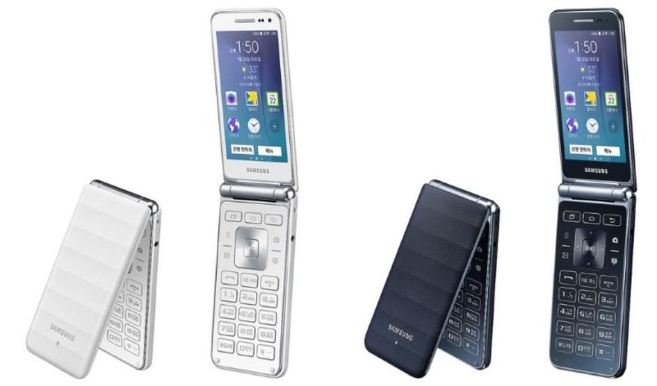 Samsung officialise le Galaxy Folder, un smartphone à clapet sous Android 5.1