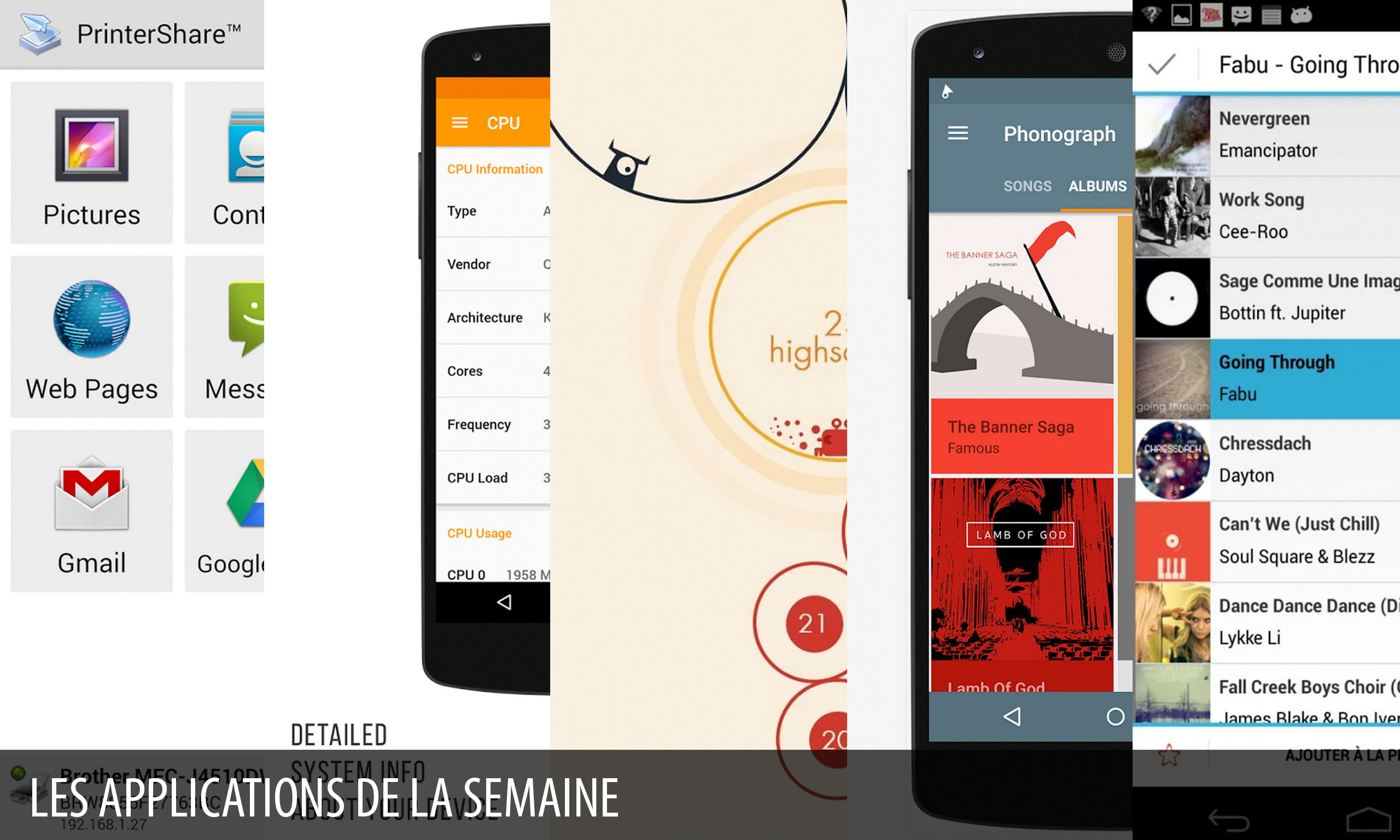 Les apps de la semaine : PrinterShare™ Mobile Print, Castro,…