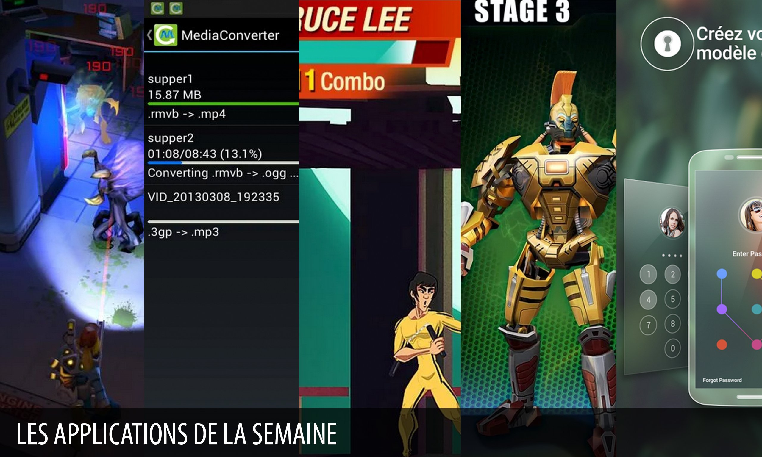Les apps de la semaine : Media Converter, Real Steel World Robot Boxing,…