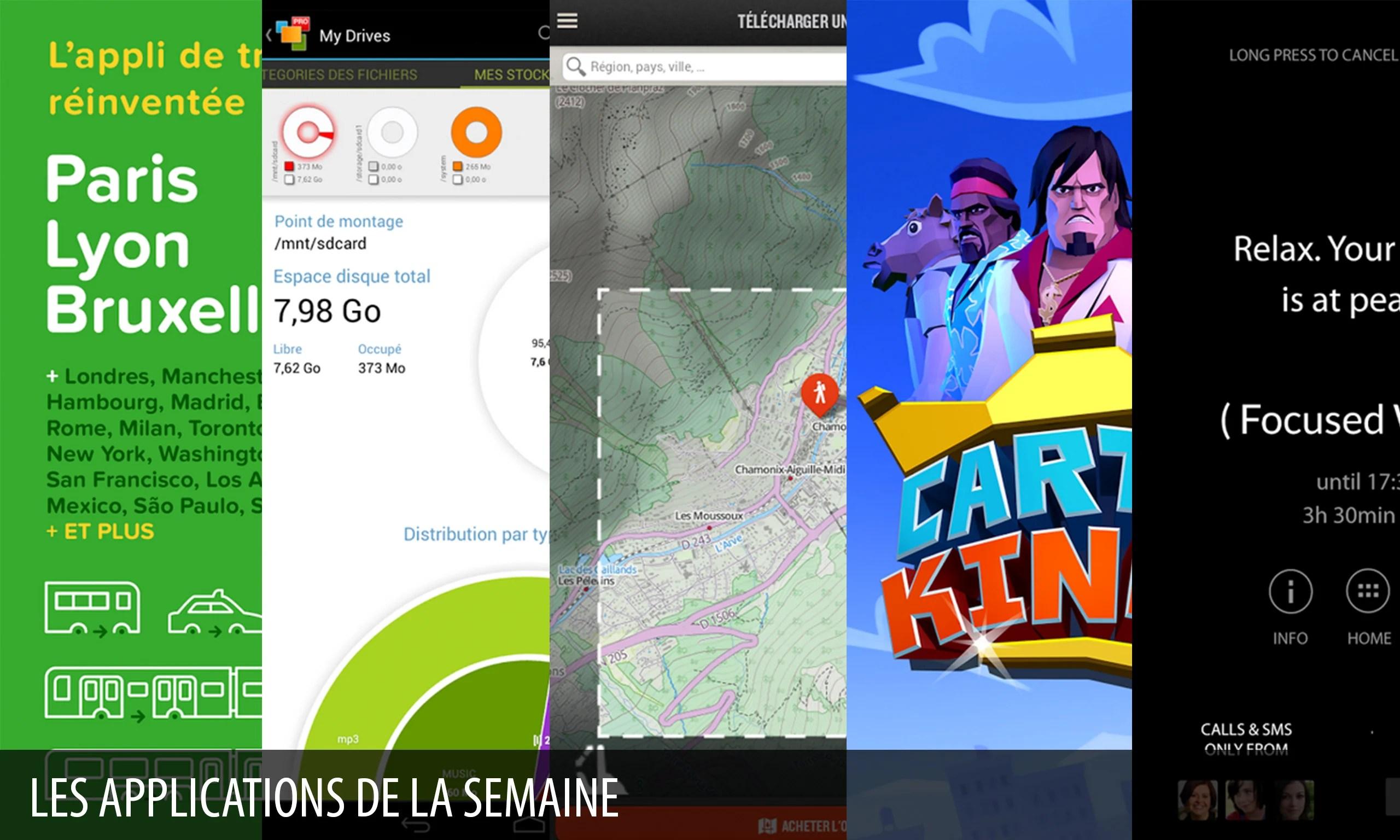Les apps de la semaine : CityMapper, (Offtime), Quechua Tracking,…