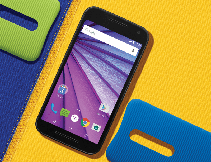 Le Motorola Moto G 3e gen est officiel : fiche technique, prix et disponibilité