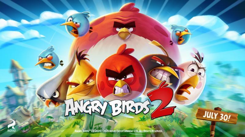 Angry Birds revient dans un deuxième épisode prévu pour la fin du mois