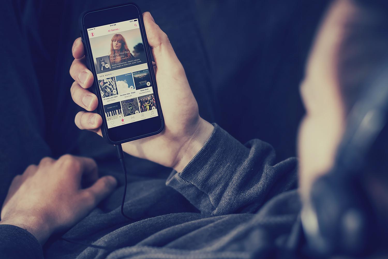 Les iPhone ne supportent pas les microSD, mais Apple Music s'y met