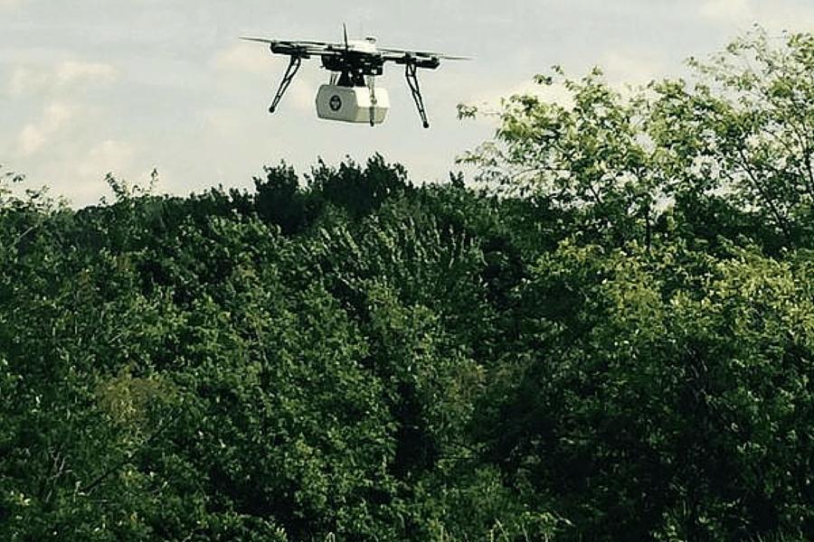 Le premier transport de médicaments par drones autorisé aux Etats-Unis