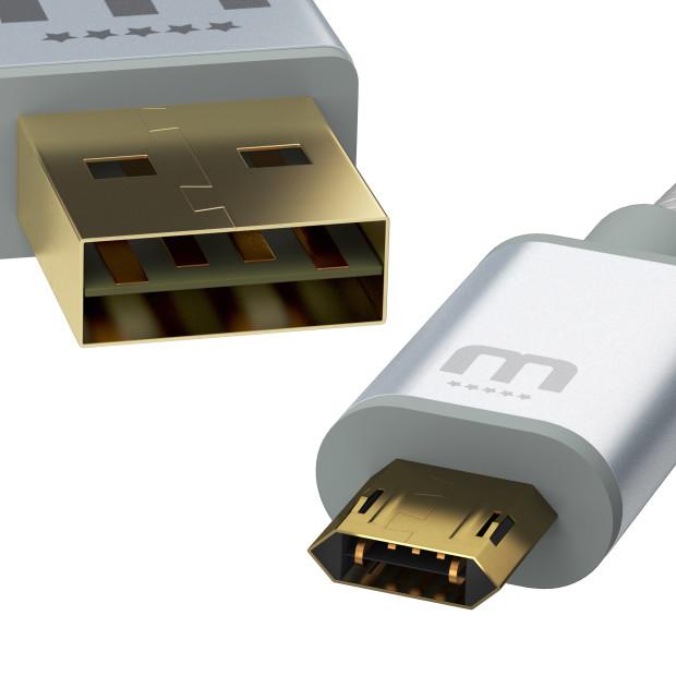 MicFlip : un câble USB type-A/micro USB aux connecteurs entièrement réversibles