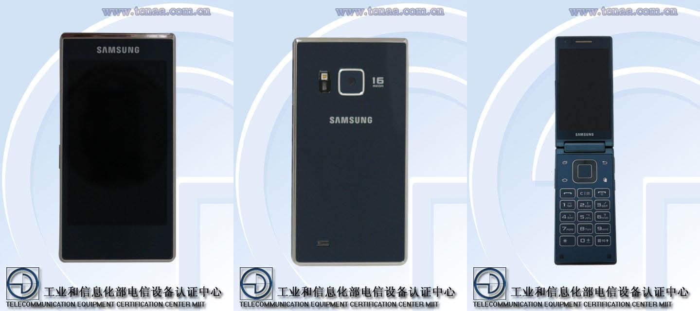 Samsung SM-G9198 : le smartphone à clapet équipé d'un Snapdragon 808