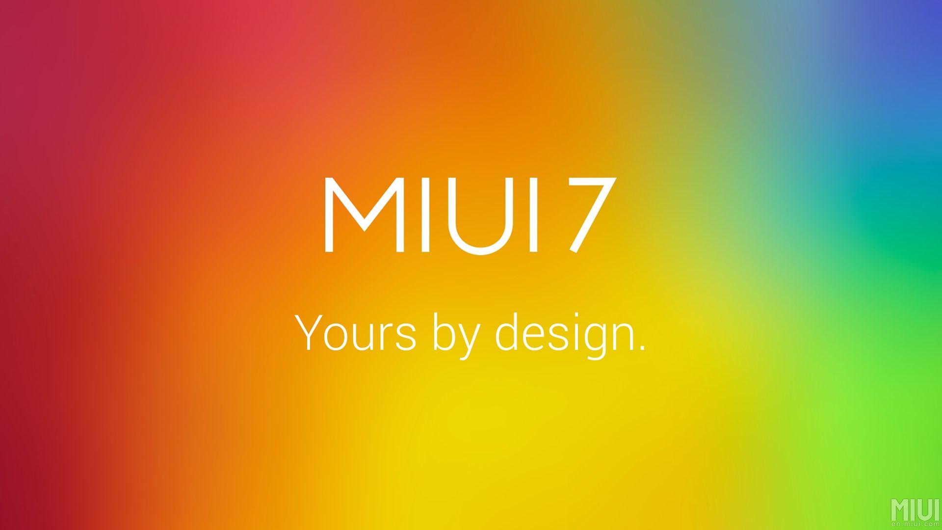 MIUI 7 commence son déploiement global