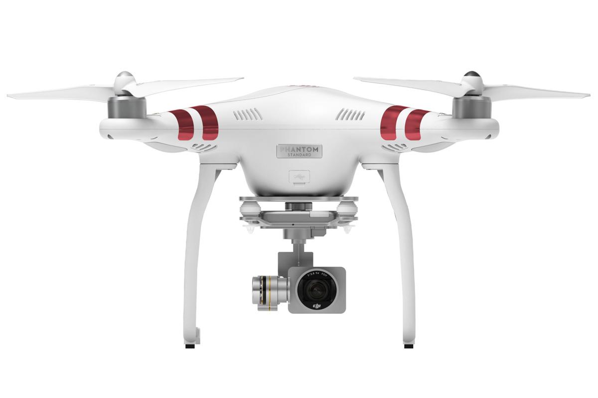 DJI Phantom 3 Standard : un drone capable de fimer en 2,7K pour moins de 1000 euros