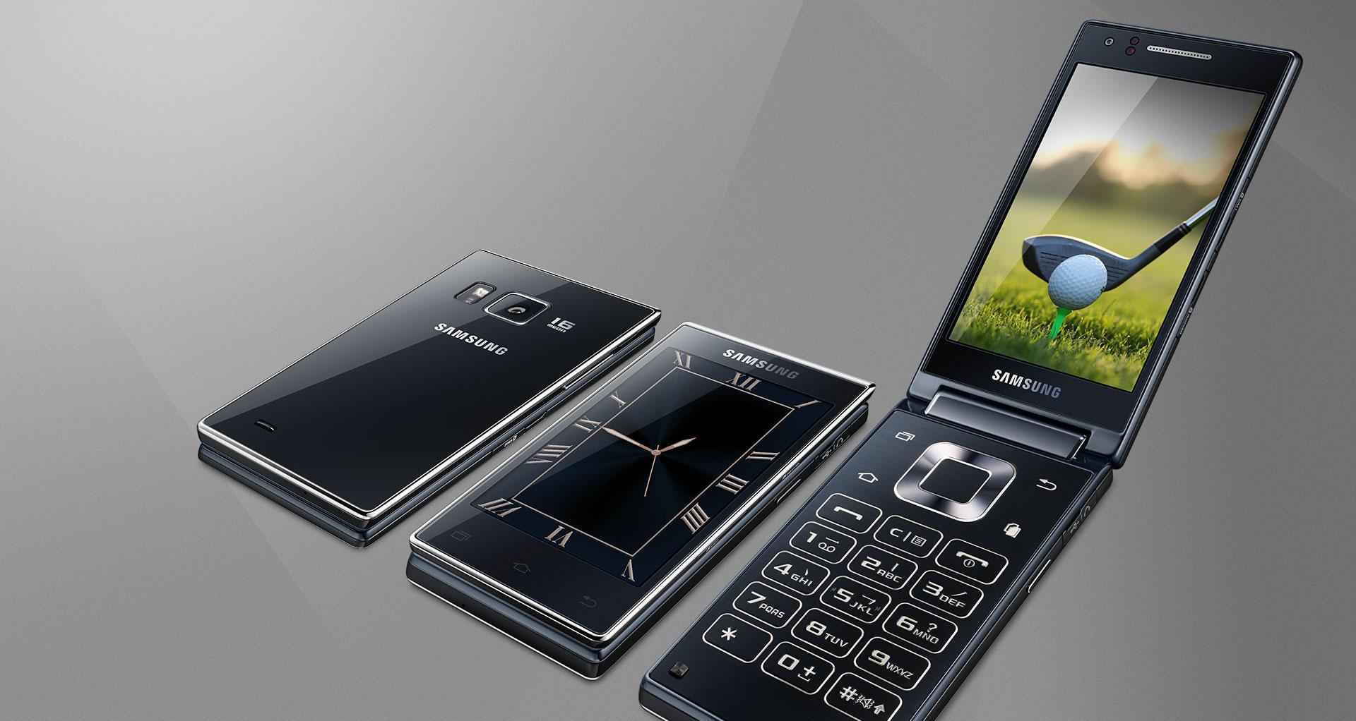 Samsung officialise le SM-G9198, un smartphone à clapet équipé d'un Snapdragon808