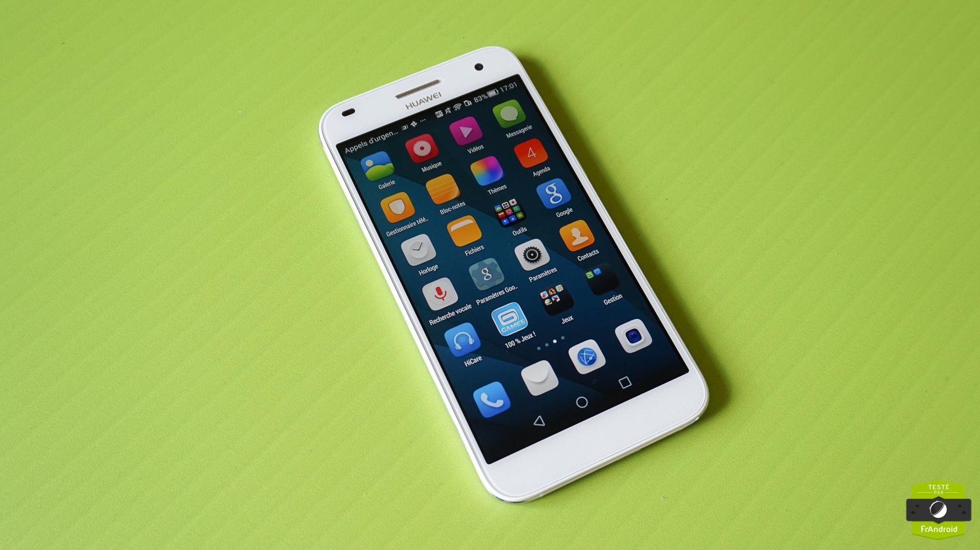 Test du Huawei Ascend G7, une phablette au bon rapport qualité-prix