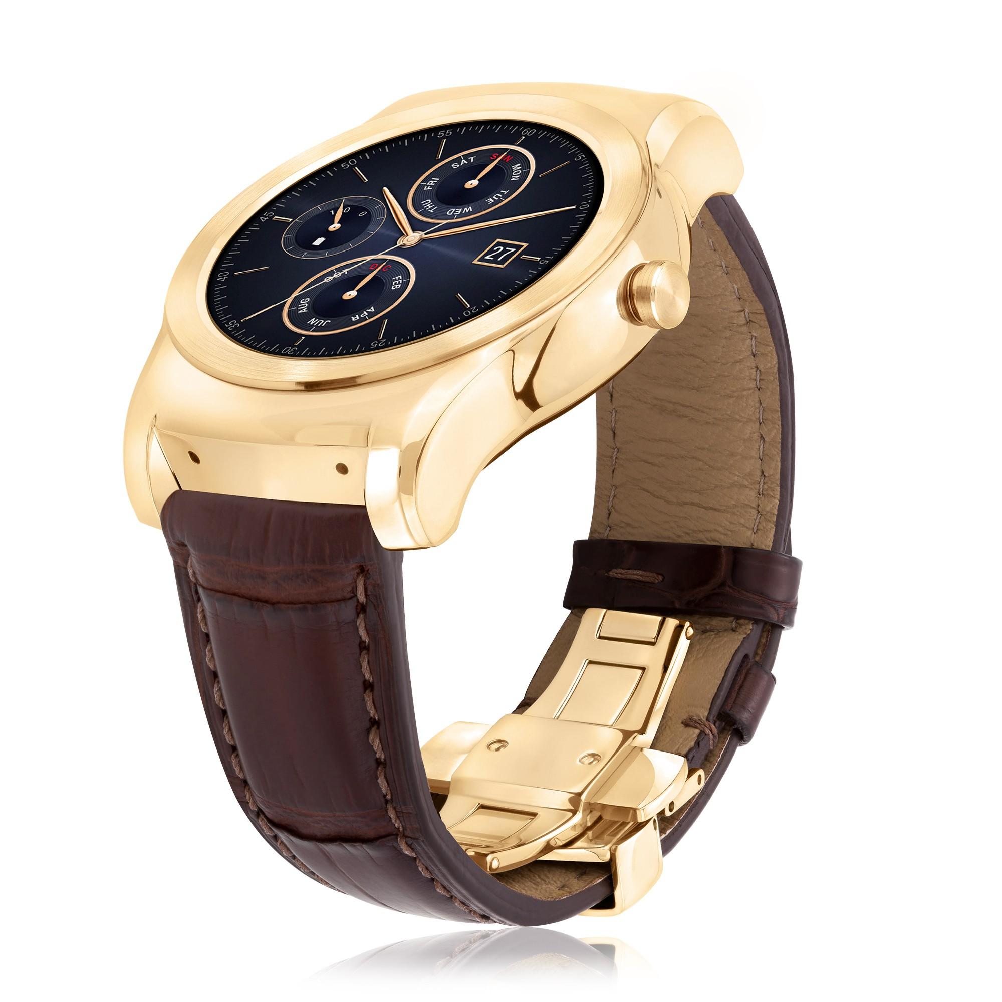 LG dévoile la Watch Urbane Luxe, une version à 1200 dollars de la Watch Urbane