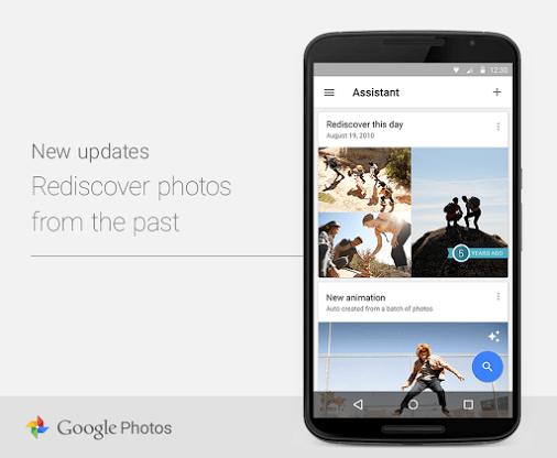 Google Photos : une nouvelle carte pour vous remémorer vos souvenirs
