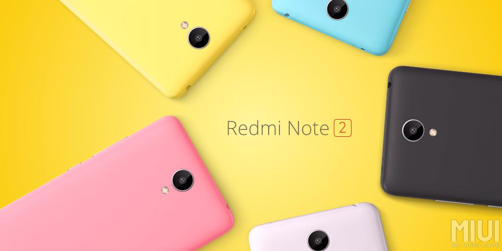 Xiaomi dévoile le Redmi Note 2 : place au nouveau MIUI 7