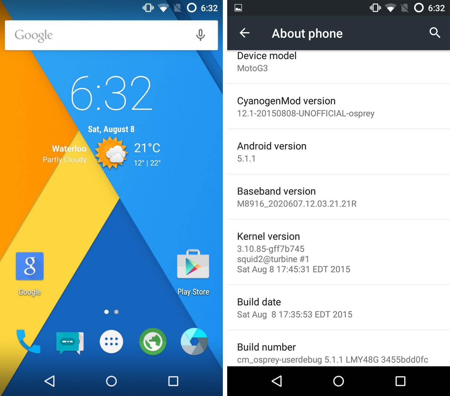 CyanogenMod déjà porté sur le Motorola Moto G (3e gen)