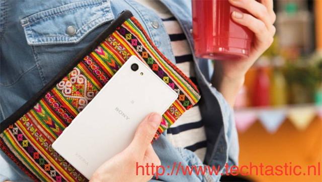 Le Sony Xperia Z5 Compact se montre à nouveau dans un probable visuel presse