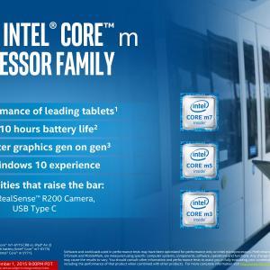 Intel dévoile les nouveaux processeurs Core M (Skylake-Y)