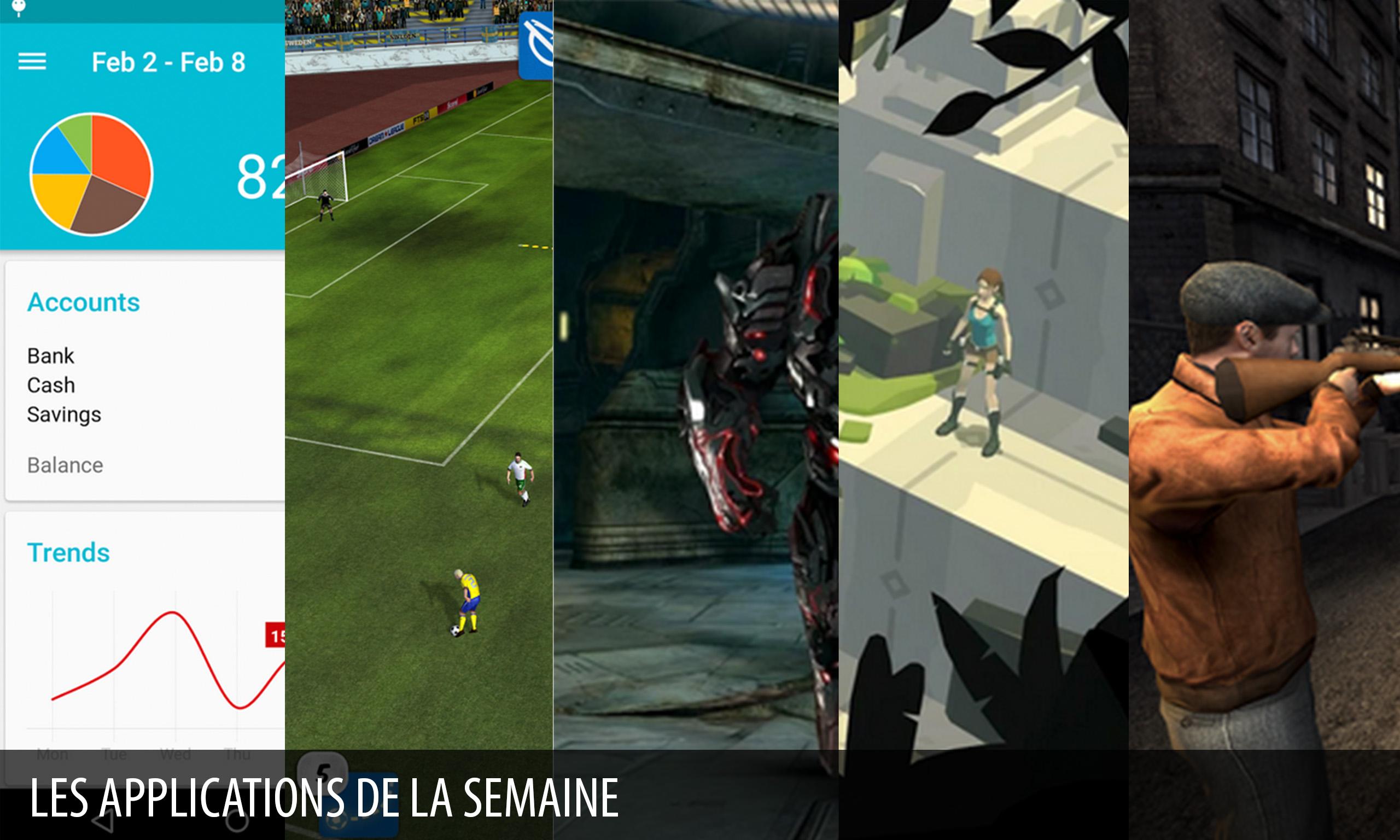 Les apps de la semaine : Lara Croft GO , N.O.V.A. 3 : Freedom Edition…