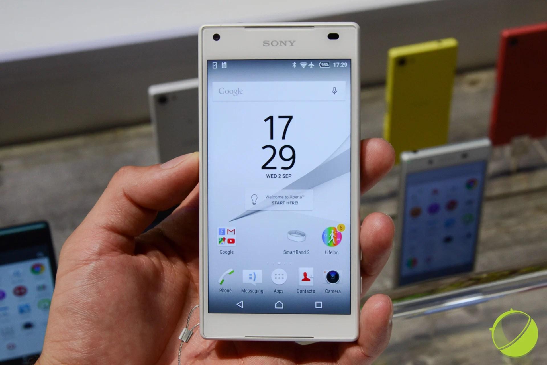 Xperia Z5 Compact : Sony promet de régler les problèmes d'écran tactile