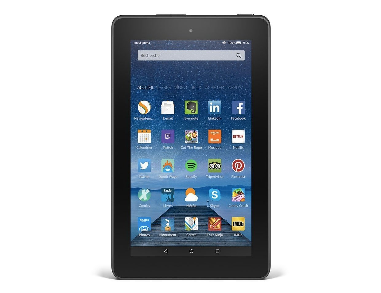 Amazon Fire Tablet (2015) : on peut y installer le Google Play Store, et sans root