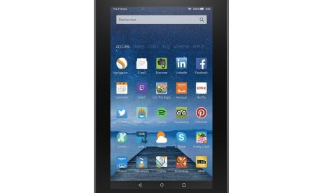 Amazon Fire Tablet (2015) : on peut y installer le Google Play Store,...