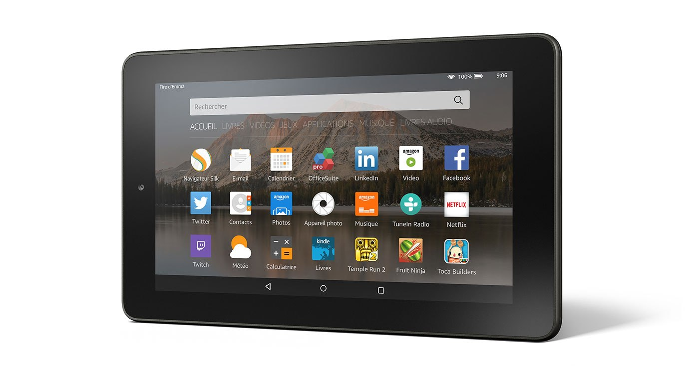Amazon officialise sa tablette Fire à… 60 euros