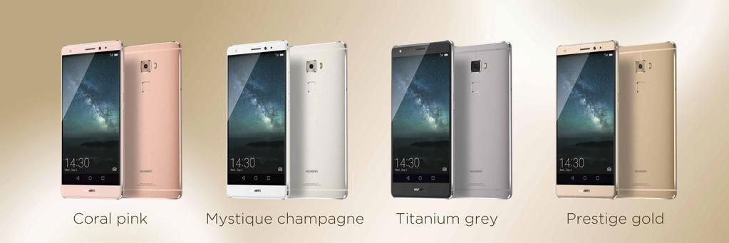 Huawei Mate S, un écran Force Touch et un nouveau lecteur d'empreintes dans un téléphone premium