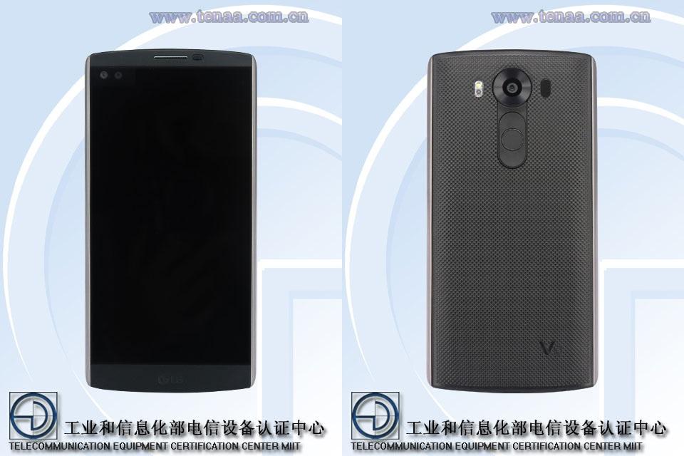 LGV10 : une phablette de 5,5 pouces avec deux écrans en façade ?