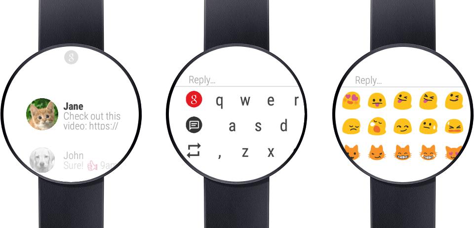 Messages pour Android Wear vous permet de rédiger les SMS depuis votre poignet