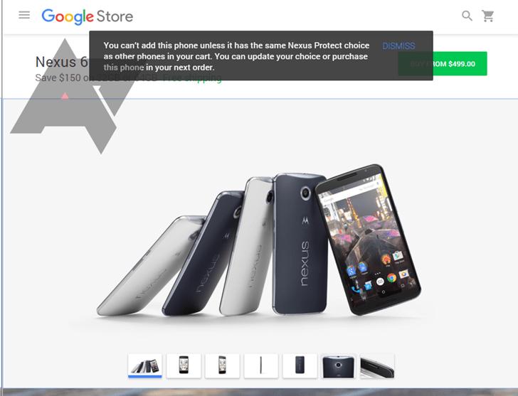 Nexus Protect : Google préparerait une garantie supplémentaire pour ses produits
