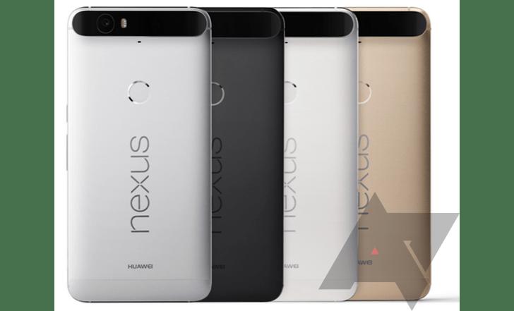 Nexus 5X et 6P : les prix dévoilés avant l'heure