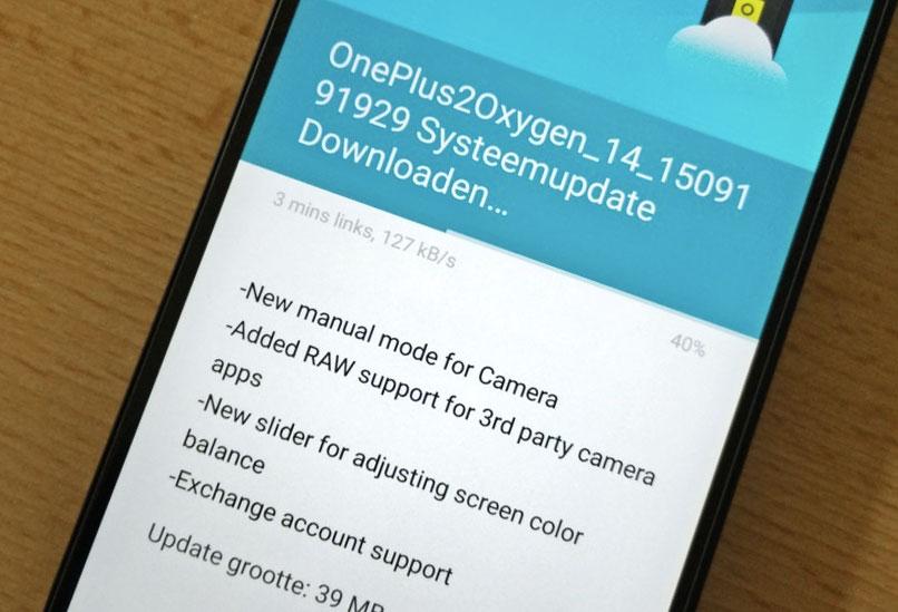 OnePlus 2 : OxygenOS 2.1.0 accueille enfin un mode photo manuel