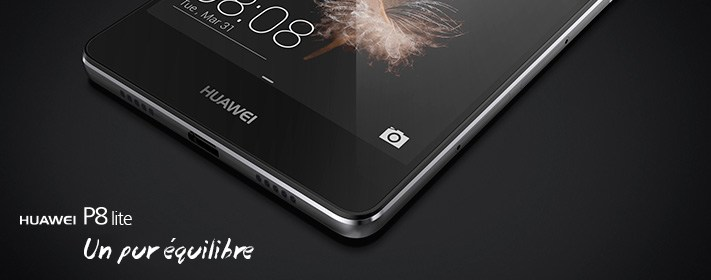 Bon plan : le Huawei P8 Lite est à 199 euros jusqu'au 4 octobre