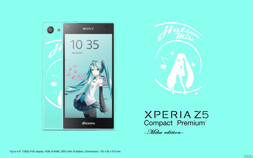 Un Sony Xperia Z5 Compact Premium avec un écran 1080p ?