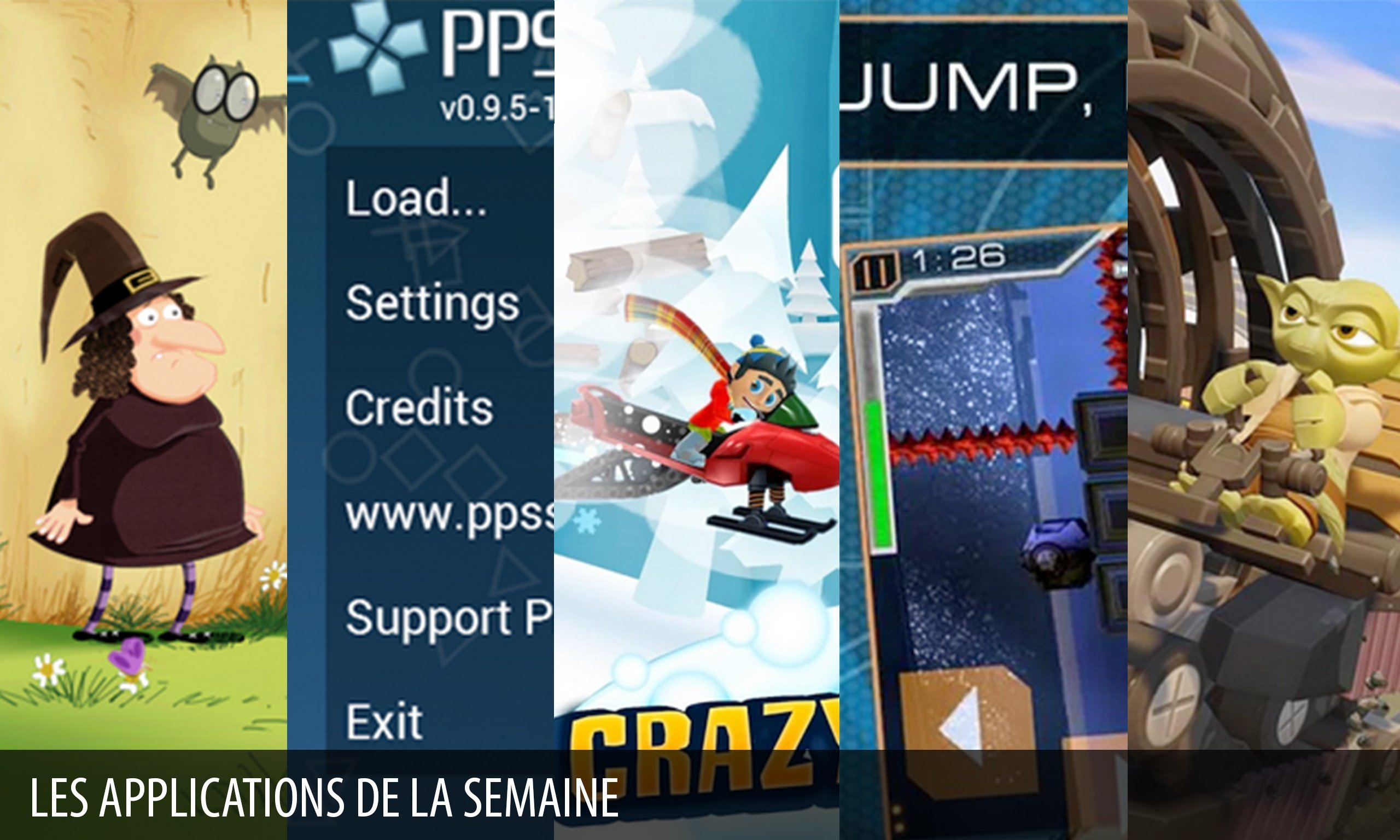Les apps de la semaine : PPSSPP – PSP emulator, Disney Infinity 3.0 Toy Box…