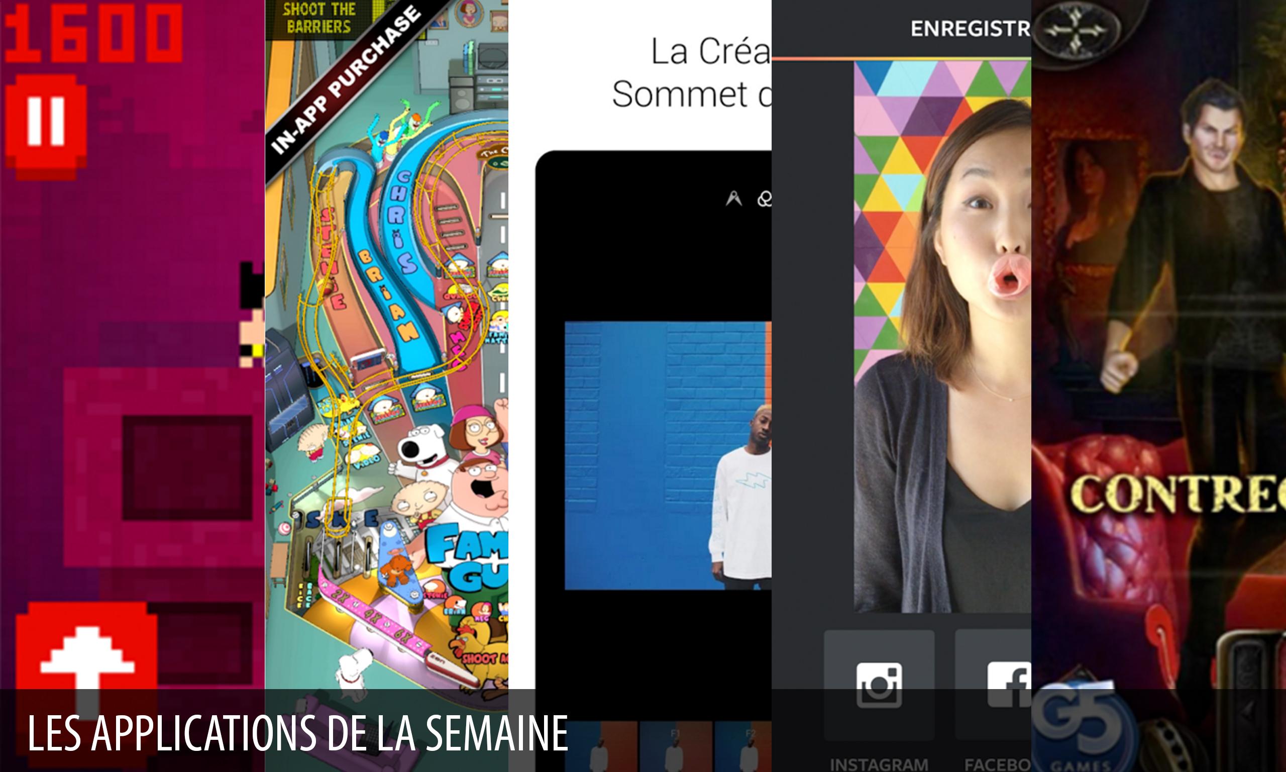 Les apps de la semaine : MiniPix, Boomerang d'Instagram, EyeEm…