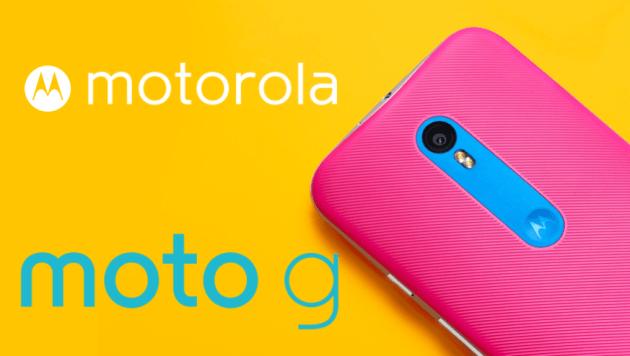 Bon plan : le Motorola Moto G 3e generation en promotion à 160 euros