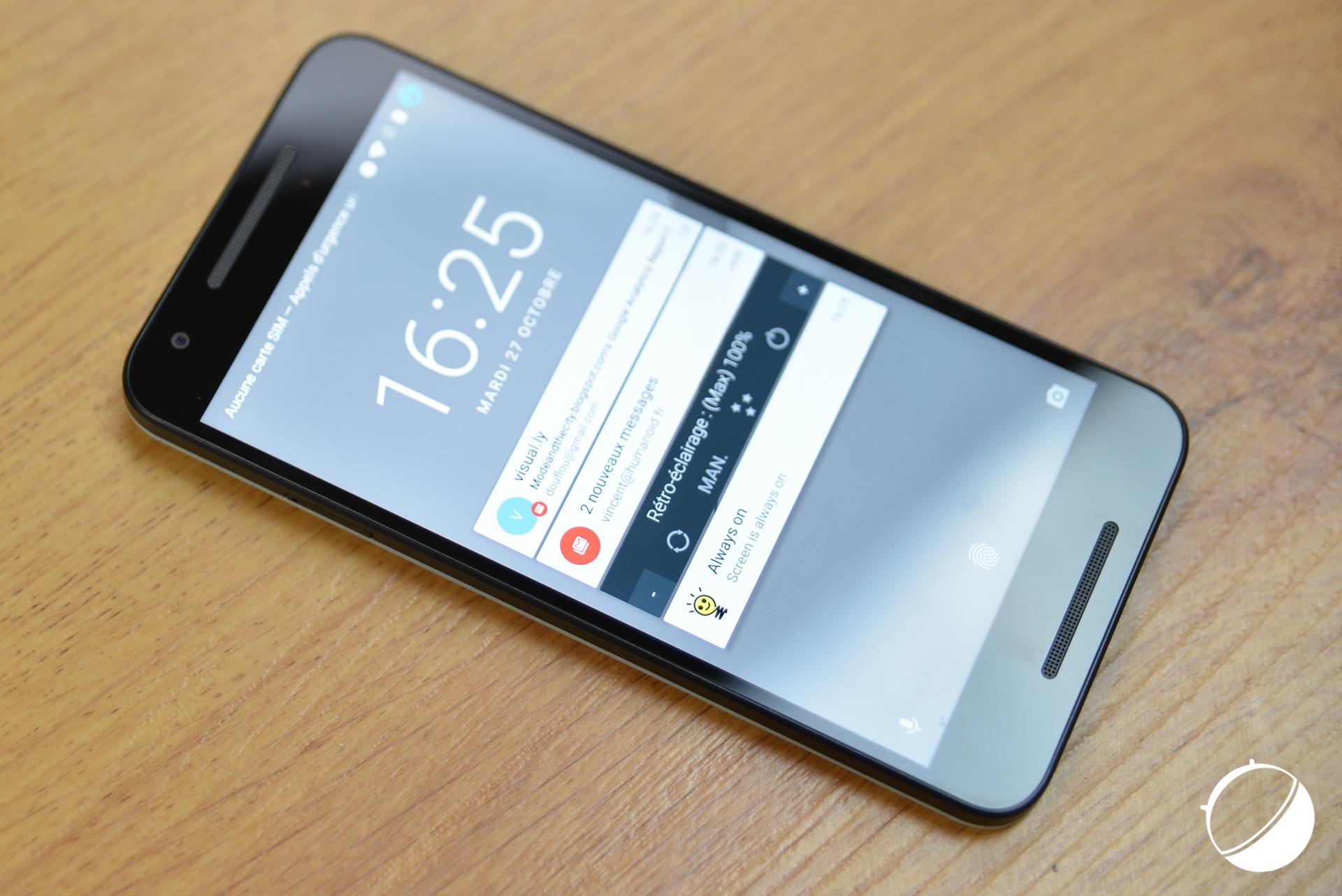 Google Nexus 5X : un mod pour obtenir des haut-parleurs stéréo