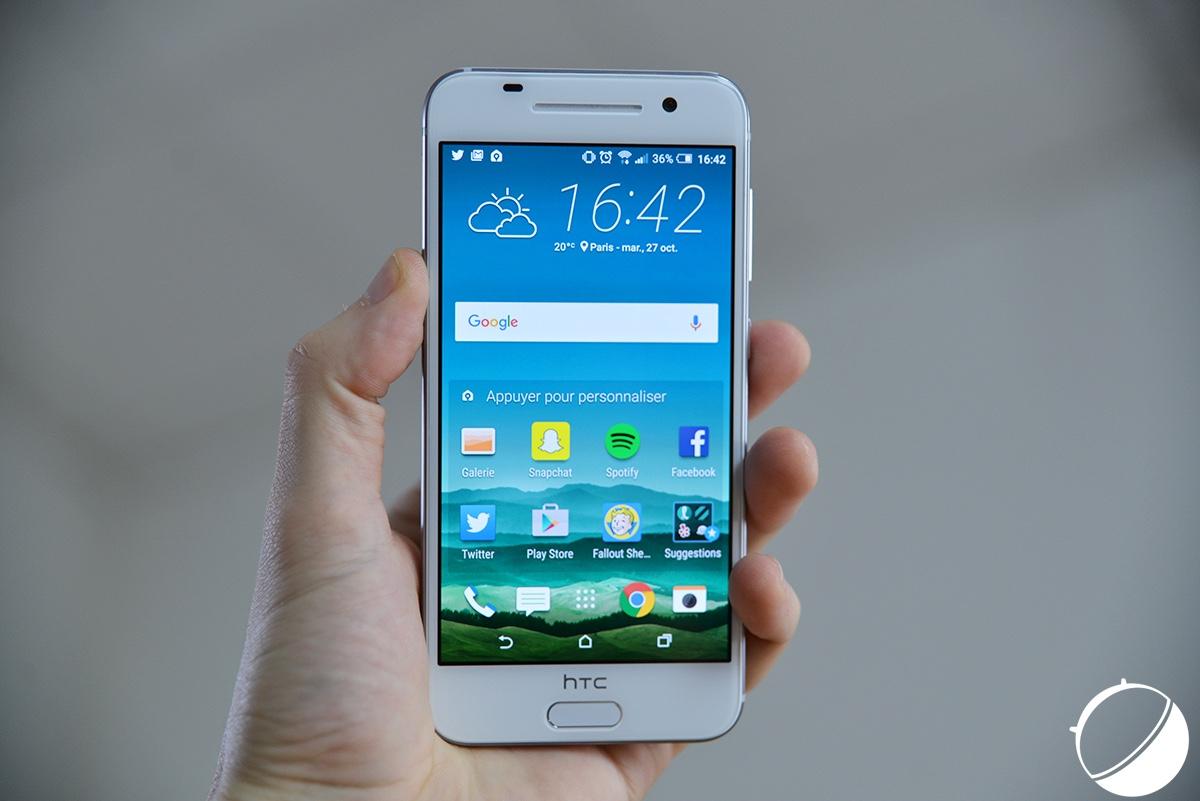 Le HTC One A9w est certifié par la TENAA