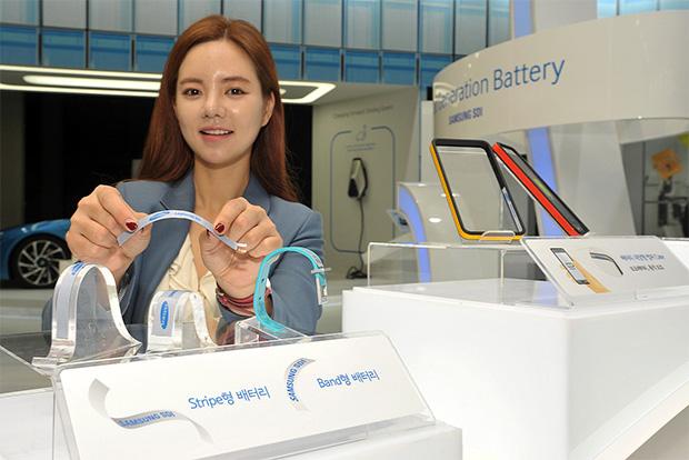 Samsung dévoile ses nouvelles batteries flexibles pour objets connectés