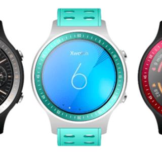 Bluboo Xwatch : la «première montre Android Wear sportive au monde»