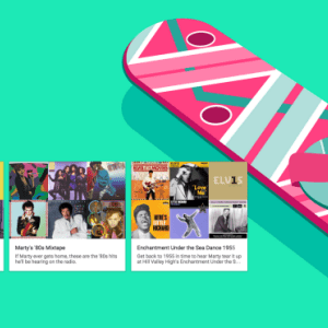 Google Play Musique intègre un Easter egg en hommage à Marty McFly