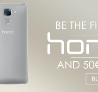 Bon plan : Pour ses un an, toute la gamme Honor dont le Honor 7 est en promotion sur Vmall