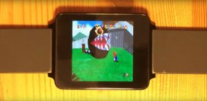 Android Wear : un fan parvient à lancer un émulateur Nintendo 64 sur sa LG G Watch