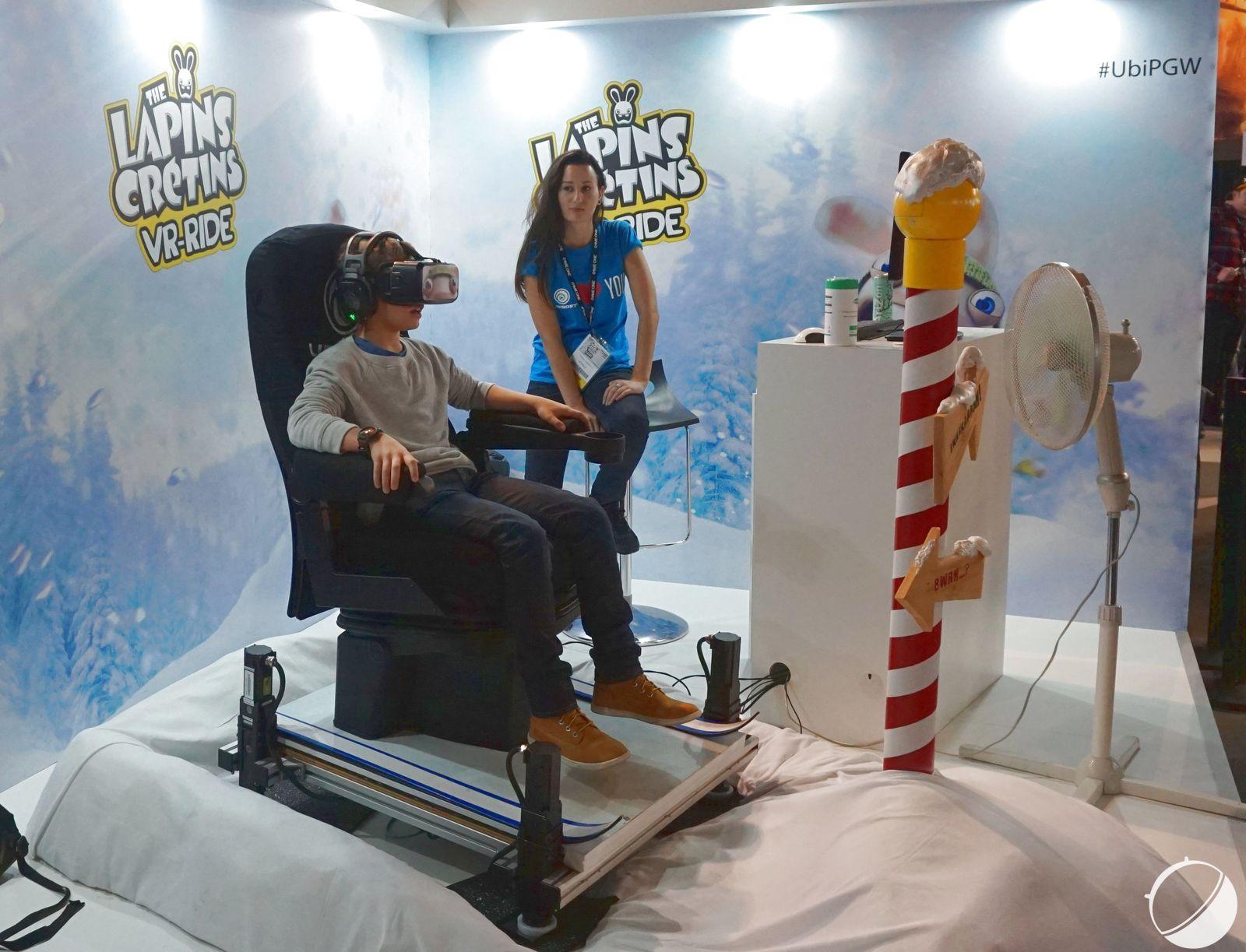 Paris Games Week 2015 : la réalité virtuelle est de plus en plus réelle