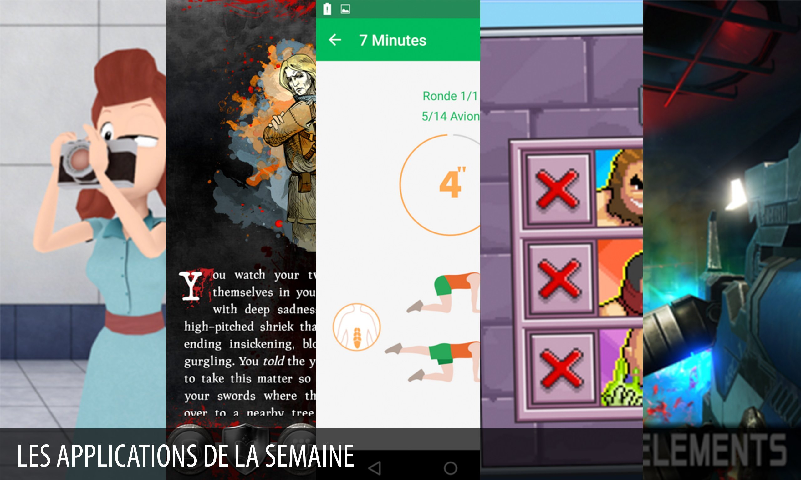 Les apps de la semaine : Dead Effect 2, Devious Dungeon 2…