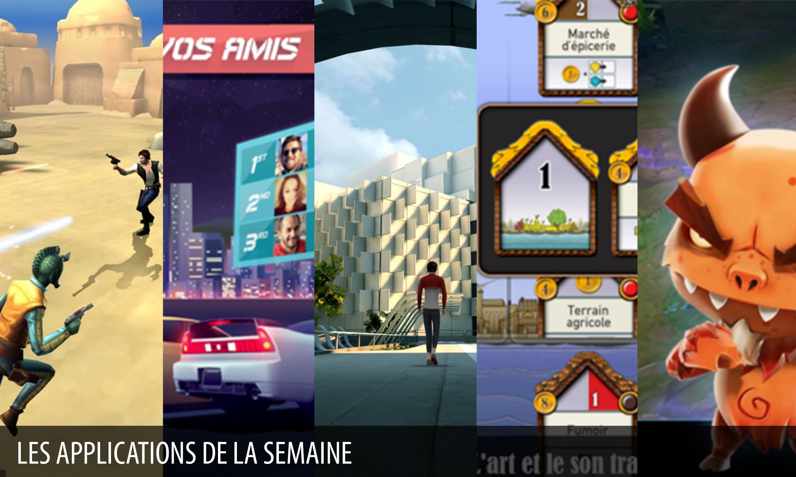 Les apps de la semaine : Star Wars™: Galaxy of Heroes, Lost Echo…