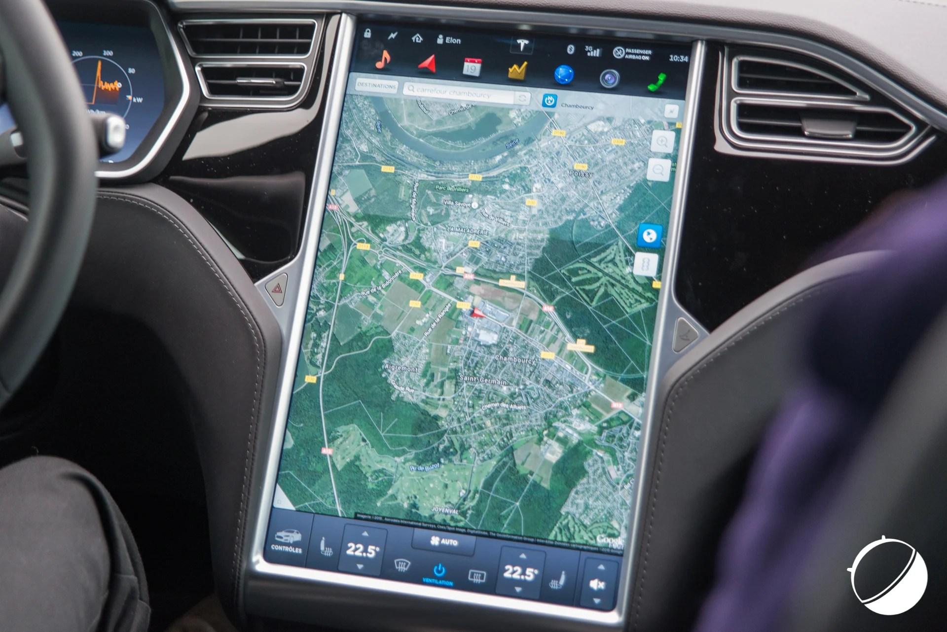 Tesla Model S et X : Android Auto et Car Play bientôt disponibles ?