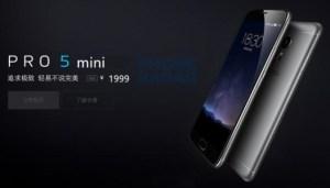 Meizu Pro 5 Mini : une variante mini fuite, avec un prix et quelques caractéristiques