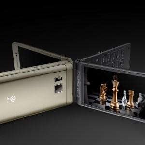 Samsung W2016 : un joli smartphone à clapet doté d'un Exynos 7420